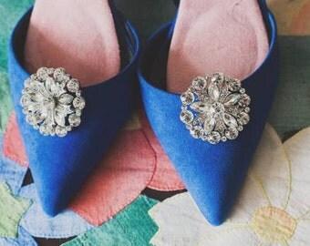 Quality Diamante Shoe Clips