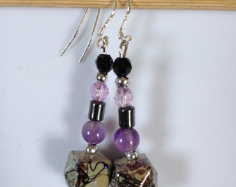 Handcrafted Stirling silver Earrings