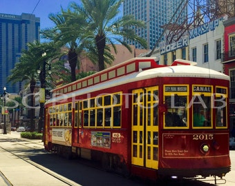 New Orleans Trolley - FREE SHIPPING!