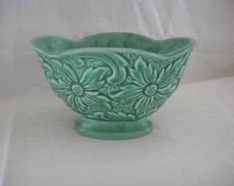 Sylvac 1783 England Green Flower Planter Bowl Pot Hyacinth