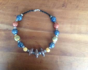 Hand made necklace 48 cm