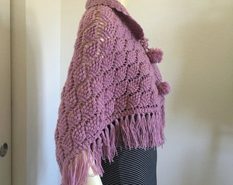 crochet shawl beautiful