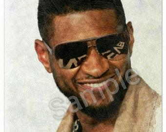 Usher art