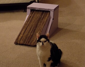 Cat Scratcher, Cat Scratch Pad, Cat Toys, Cat House, Kitty, Cat Tree,