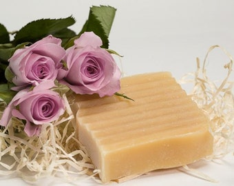 Horse milk SOAP with champagne and roses
