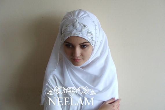Hervorragend Mariage élégant Turban Hijab prêt à porter le hijab foulard RQ64