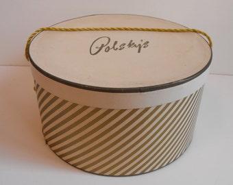 "Hatbox Polsky's 13"" dia Cleveland   (568)"