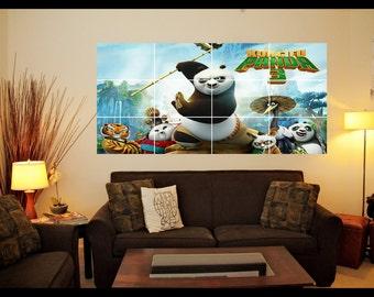 Kung Fu Panda 3 Wall Art