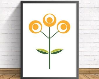 Minimalist Wall Art Prints, Modern Print, Minimalist Print, Prints, Minimalist Poster, Modern Art, Minimalist Art, Flower Prints, Scandi Art