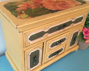 Vintage Renewed Jewelry Box