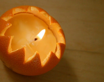 Eco-Soy Orange Peel Candle