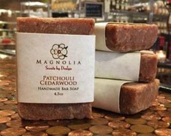 Patchouli Cedarwood Soap Bar
