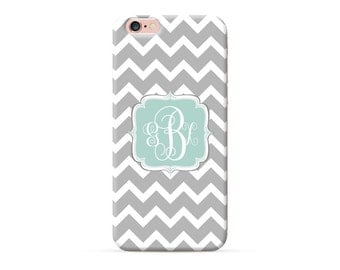 iPhone 6 case monogram iPhone 6 plus case chevron iPhone 6s plus monogrammed iPhone 7 iPhone SE iPhone 5 5S 5C 4S 4 custom iPhone cover