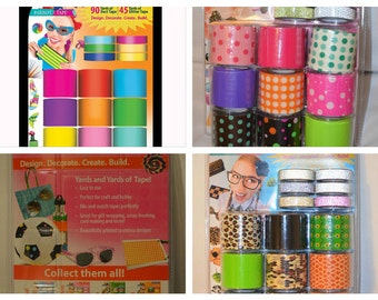 Parrot Designer Duct Tape Solid, Polka dots, Animal Print
