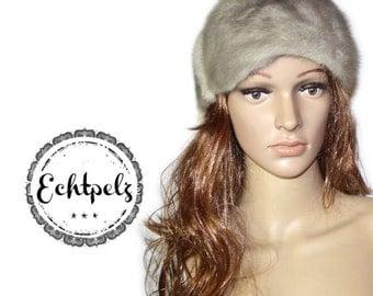 Vintage fur hat real fur hat mink mink Hat Cap fur has Gr.XS S new