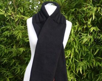 FleeceBand, grape seed, Fleeceschal, scarf, fleece