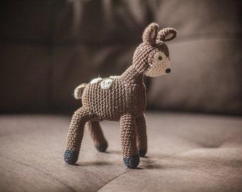 Deer amigurumi