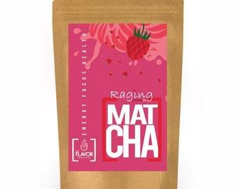 Raspberry Matcha Green Tea | 2 oz