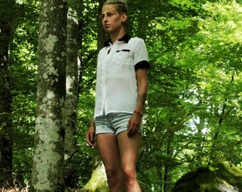 Chiffon blouse | OOAK