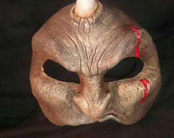 Latex Half-face Ogre Mask