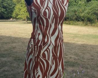 vintage Zebra print dress