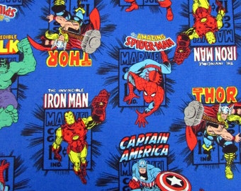 Marvel Comics Blue Fabric From Camelot