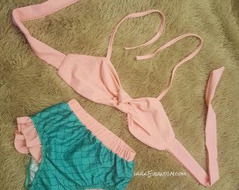 Girls Mermaid Suit