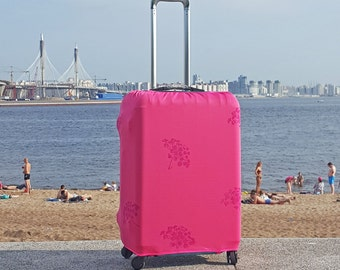 Cover for Suitcase and Rolling Luggage With KoshkaFishka Print