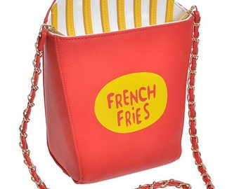 French Fries Lovers Clutch