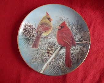 Winter Retreat Collector Plate