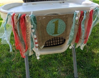 Mint To Be Highchair Banner