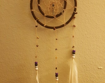 Feathered dream catcher