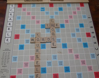 Custom Scrabble Game Art