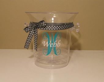 Personalized Plastic Ice Bucket