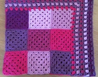 Crochet Baby Blanket - Dolly Mixtures