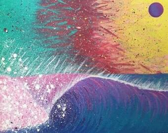 Purple Glare - Print - 11x14