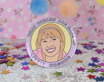 Lizzie McGuire / Hilary Duff - 58mm - Badge