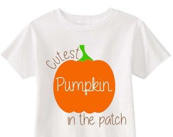 Cutest pumpkin in the patch - baby - toddler - girl - boy - fall - pumpkin patch