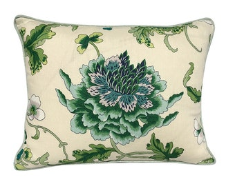 Brunchwig & Fils Floral Accent Pillow Cover