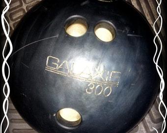 Vintage Bowling Ball Ebonite Galaxie 300