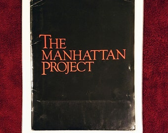 RARE Movie Press Kit 'The Manhattan Project' 1985 with Photos, with Four 8x10 Movie Still Photographs