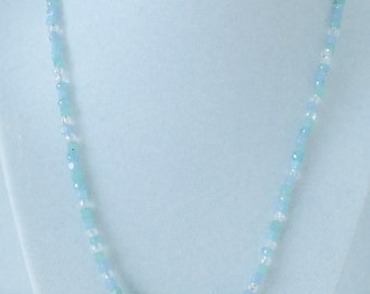 Sea turquoise necklace