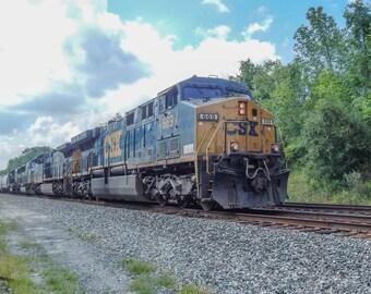 Train 8x10 Photo