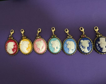 Sailor Moon Cameo - Sailor Moon Pendant, phone charm, or key chain. Use as Sailor moon necklace, purse accessory, and perfect for gifts!