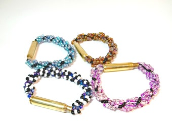 Bullet Jewelry- 223 Caliber Bullet Stretchy Bracelet