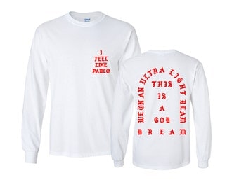 I Feel like Pablo The Real Life of Pablo Yeezy MSG Kanye West Red Long Sleeve and Short Sleeve shirt