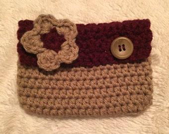 Crochet pouch (universal)