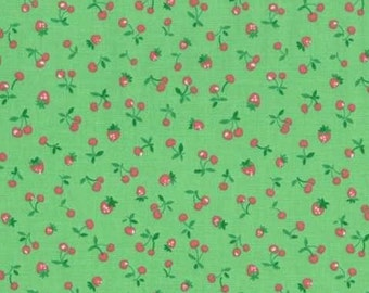 Sale! Old New 30's (Berries) by Lecien in Green