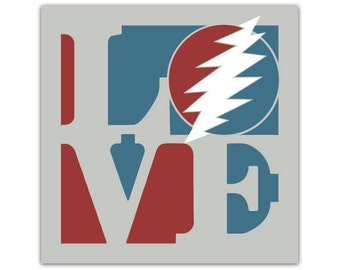 Love Dead & Co Sticker 3""