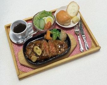 Free Shipping! Miniature Steak Meal